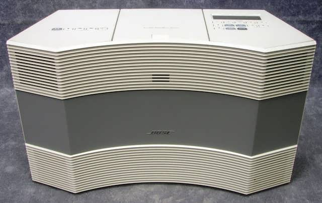 bose acoustic wave music system cd 3000 am fm cd radio ivory w manual. Black Bedroom Furniture Sets. Home Design Ideas