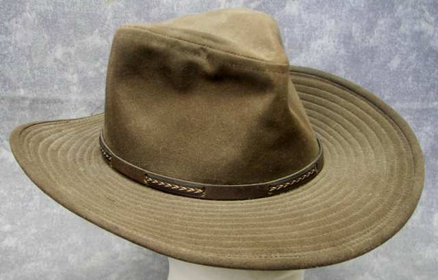Orvis missisquoi brown outback hat sz m waterproof for Orvis fishing hat