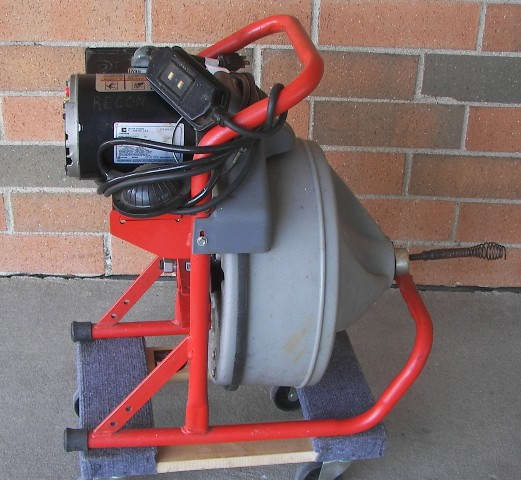 ridgid kollmann drain cleaning machine