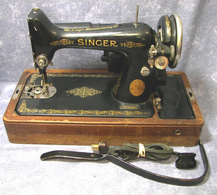 1936 singer sewing machine value