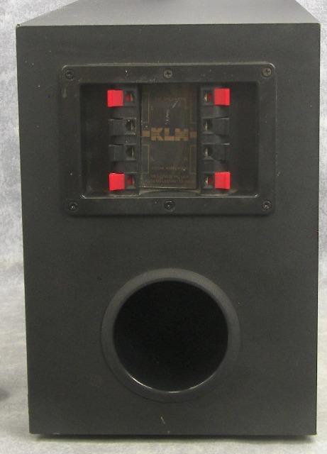 klh audio systems 2 x passive subwoofer speaker ebay. Black Bedroom Furniture Sets. Home Design Ideas